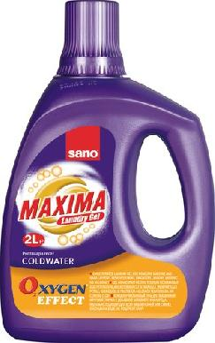 Sano Maxima laundry gel Coldwater Oxygen Effect 2 л